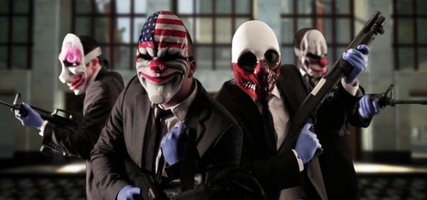 Скачать игру про клоунов грабителей