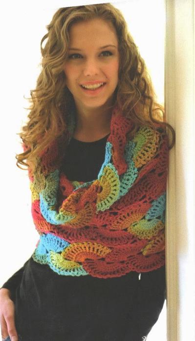 chal bufanda puntos abanicos crochet patron1 (399x700, 247Kb)