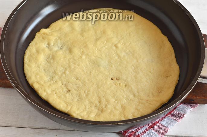 Коржи на сковороде рецепт
