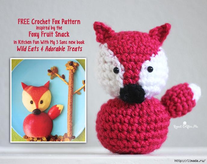 CrochetFoxNew (688x546, 299Kb)