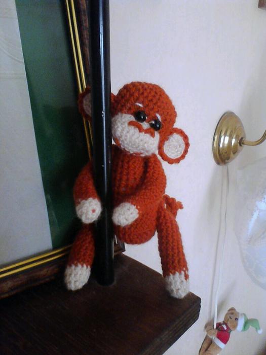 обезьяна (525x700, 367Kb)