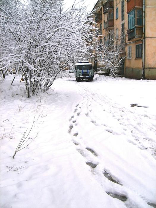 Мокрый снег (525x700, 284Kb)