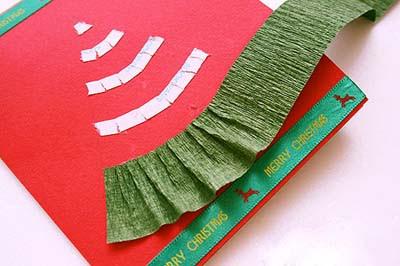 Елочка из бумаги для открытки ручной работы (5) (400x266, 88Kb)