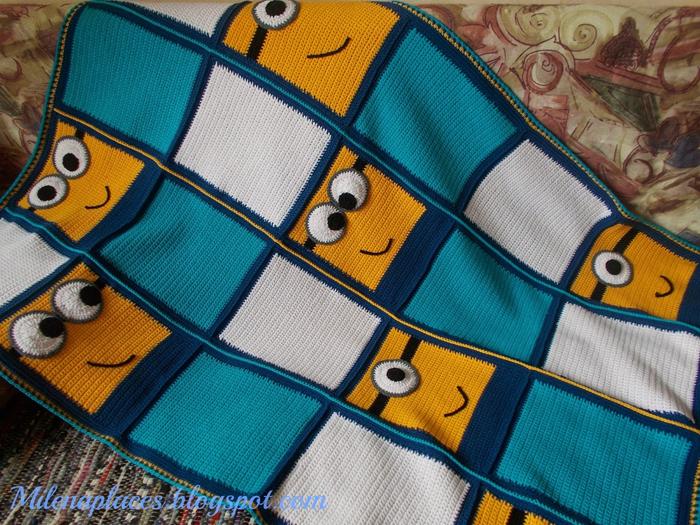 одеяло крючком