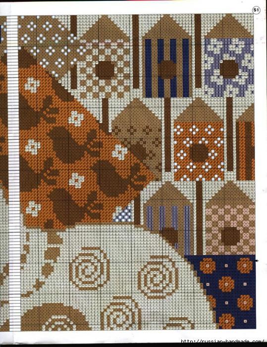 Декоративные подушки с КОШКАМИ. Вышивка крестом (2) (539x700, 454Kb)
