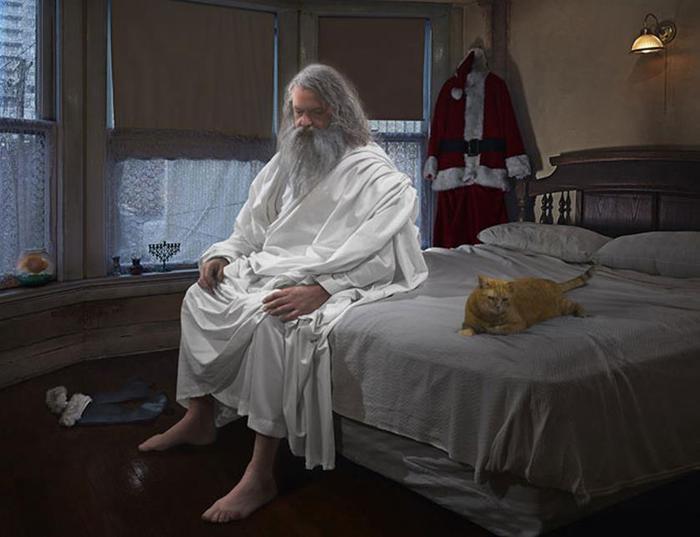 Религия глазами художницы Дины Гольдштайн