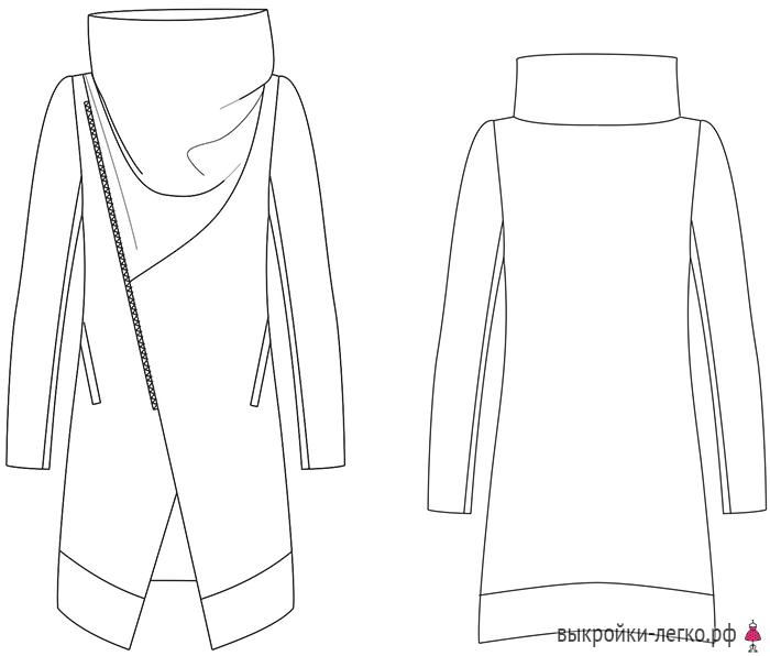 high-collar-coat-pattern (700x596, 111Kb)