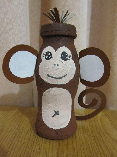 Как сделать обезьянку своими руками фото