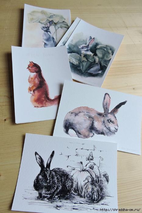 открытки по рисункам от Shraddha (10) (466x700, 249Kb)