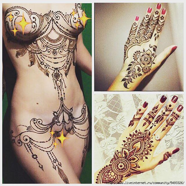 3д татуировки для девушек на ноге фото