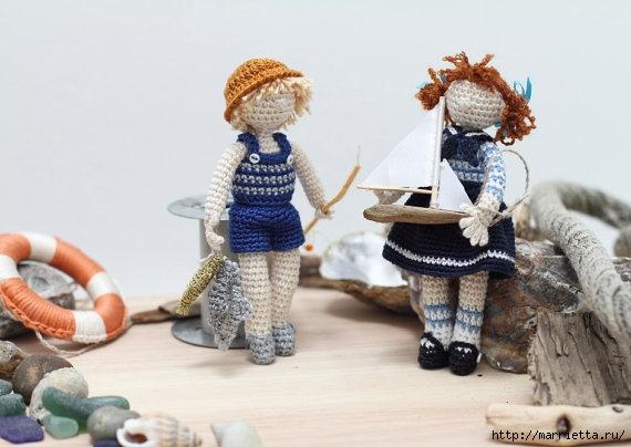 Миниатюрные игрушки амигуруми от FancyKnittles (20) (570x404, 122Kb)