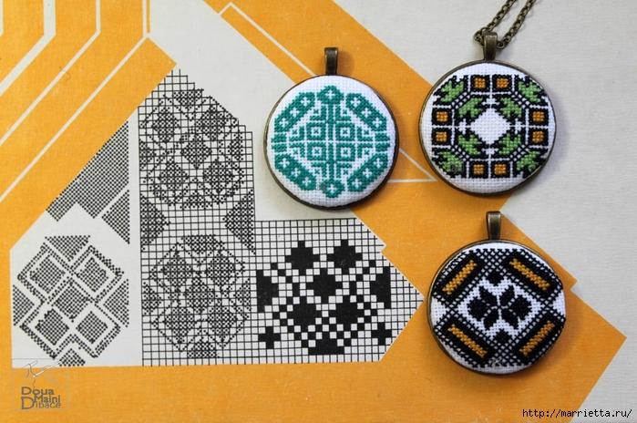 Вышивка в этнических украшениях ручной работы (2) (700x464, 305Kb)