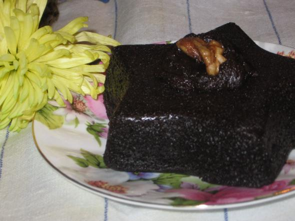 шоколадный бисквит без яиц рецепт с фото