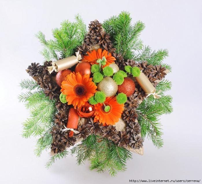 венок шишки цветы/4630982_venok_zvezda_shishki_cveti_vetki (700x638, 394Kb)