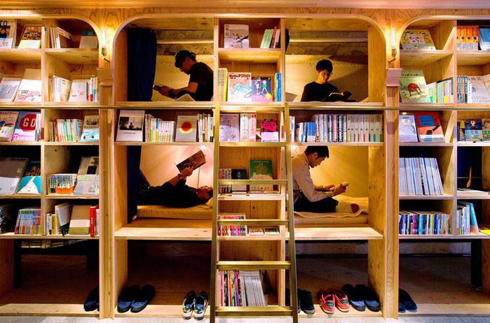 гостиница Book and Bed токио 8 (700x462, 493Kb)