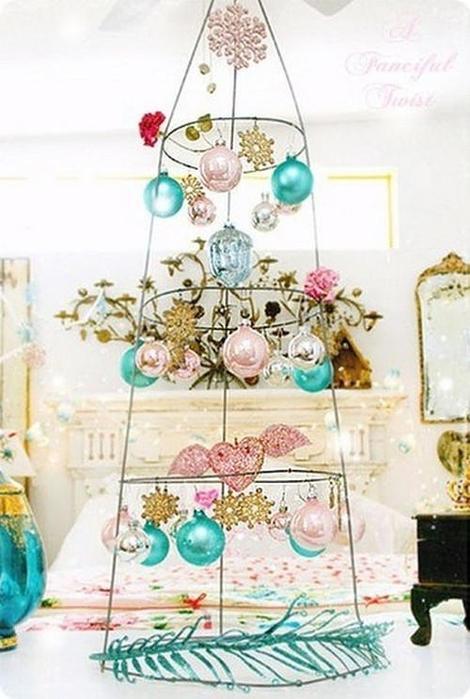 Лиса иКак сделать оригинальную новогоднюю елку своими
