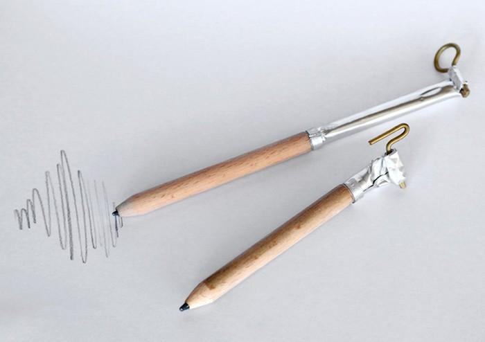 Прикольные идеи придумали евреи: необычный дизайн простого карандаша