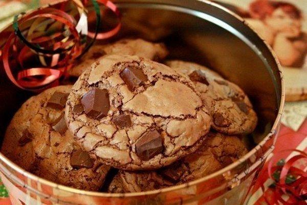 шоколадное печенье (600x400, 247Kb)