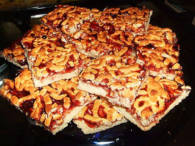 торт песочный с вареньем рецепт с фото