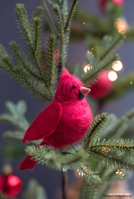 Cardinal_Red_Felted_Bird_Tree (469x700, 240Kb)