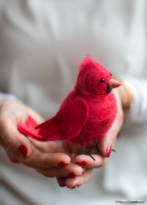 Red_Cardinal_Felted_Wool (503x700, 191Kb)