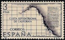 2.15.15.0.5 Испания. Карта. Costa Septentrional de California (249x153, 26Kb)