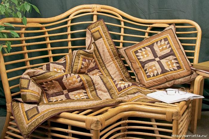 Лоскутная мозаика. Панно ИГРА С УГОЛКАМИ в технике пэчворк (8) (700x466, 307Kb)