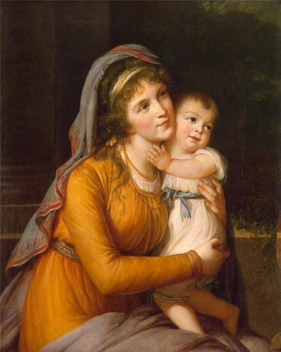 День матери в России: история праздника, картины и стихи