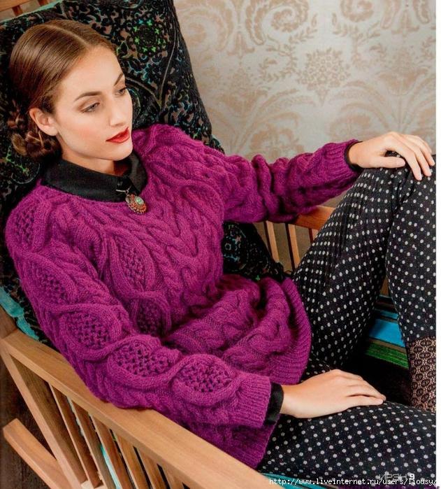 пуловер из ирэн (631x700, 425Kb)