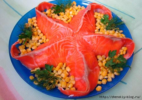 Праздничные морские салаты с