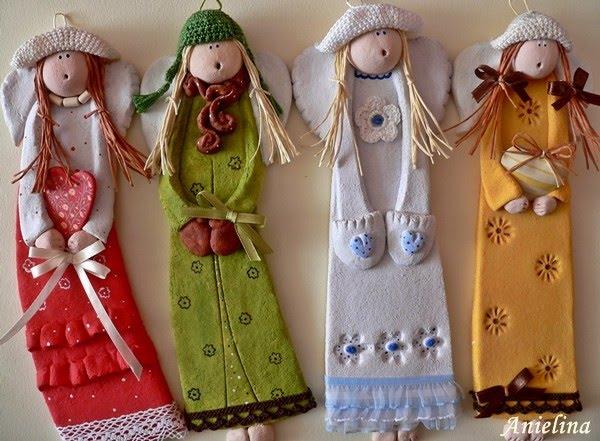 Куклы из соленого теста своими руками фото