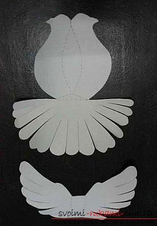 Как сделать голубя из бумаги своими руками