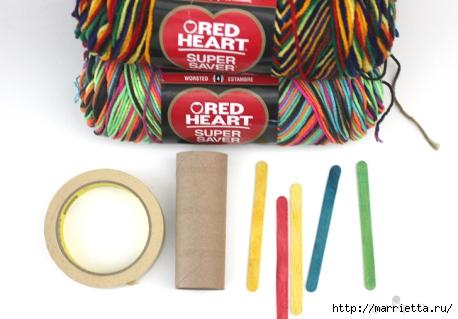 Устройство для плетения шнура своими руками (1) (458x319, 101Kb)