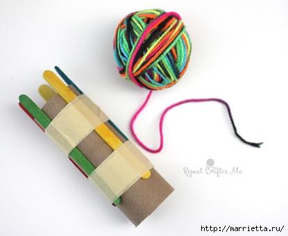 Устройство для плетения шнура своими руками (3) (415x340, 80Kb)