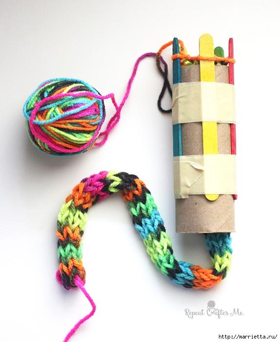 Устройства для кругового вязания