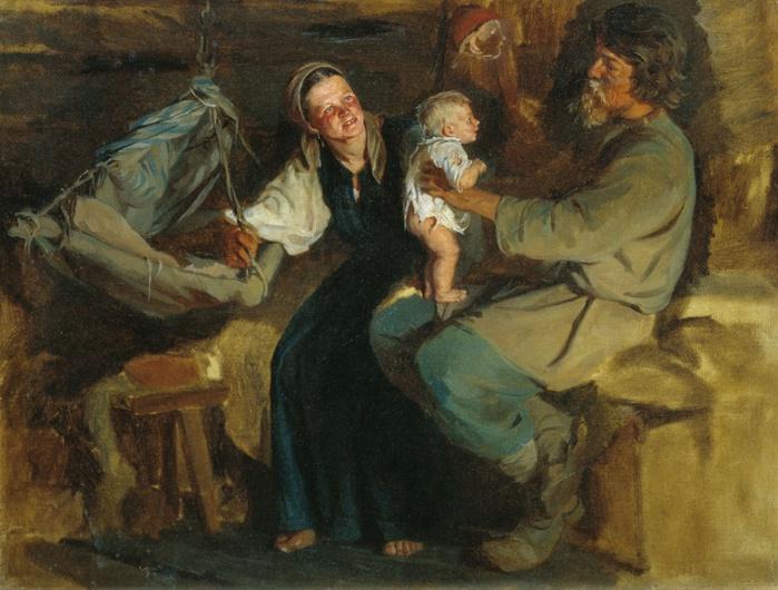 Картинки по запросу картина крестьяне