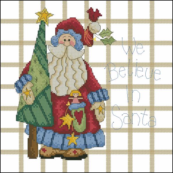 We believe in Santa (595x595, 567Kb)