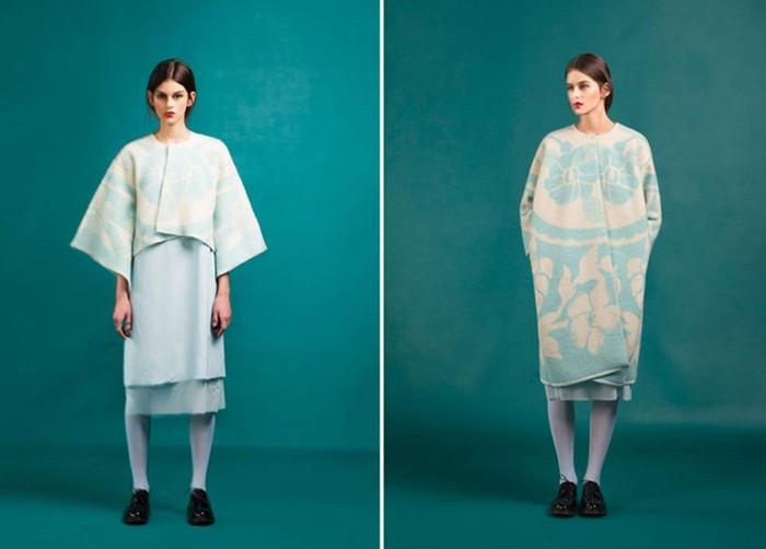 126583198 120315 2156 4 Эстонский дизайнер создаёт пальто из старых советских одеял