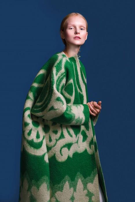 126583200 120315 2156 6 Эстонский дизайнер создаёт пальто из старых советских одеял