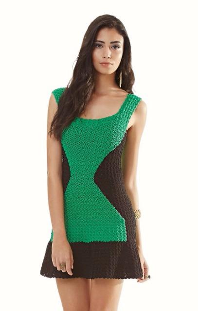 Хороший стиль-Вязаные платья