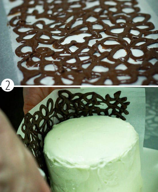 Как сделать буквы на торт из шоколада своими руками