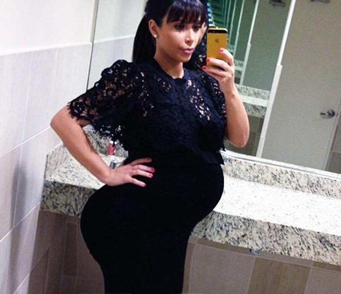 Ким Кардашьян родила сына