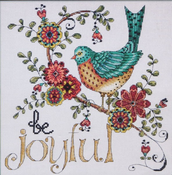 Design Works 2789 Be Joyful (592x600, 344Kb)