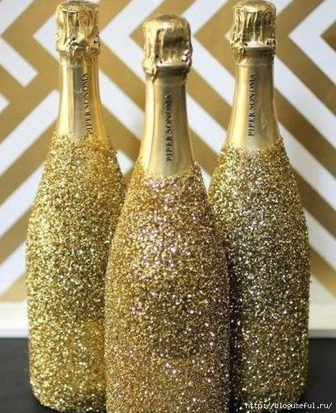 декорируем бутылку шампанского (489x600, 247Kb)