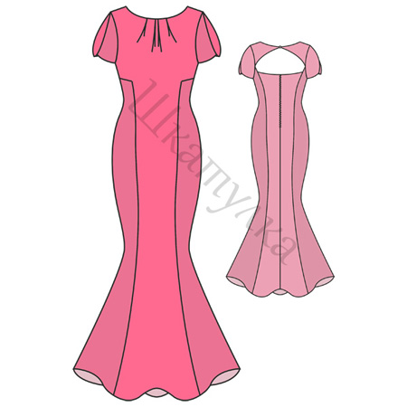 Вечерние платья выкройки с фото бесплатно