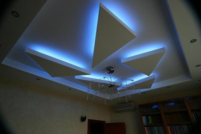Дизайн потолки из пенопласта