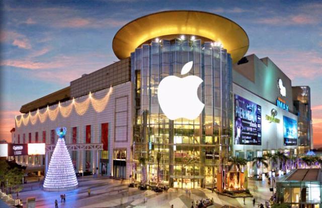 магазины эйпл в сингапуре