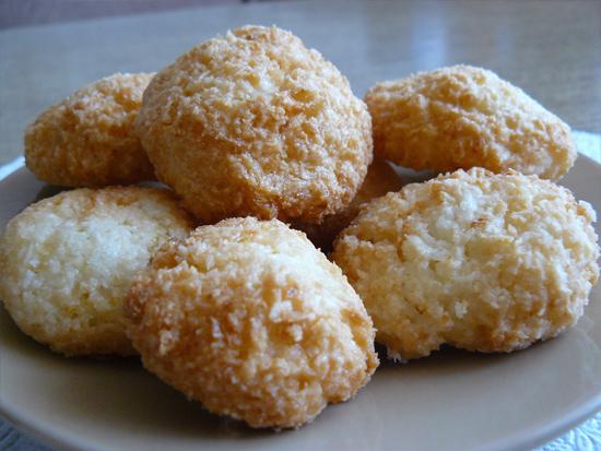 печенье с кокосовой стружки рецепт с фото