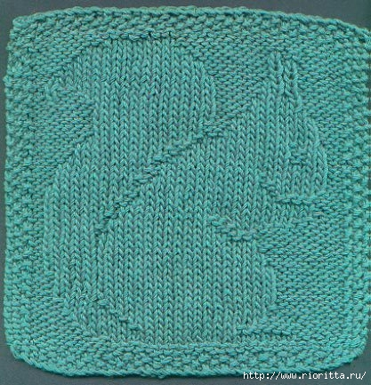 Плетенка рисунок в вязании