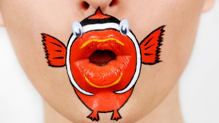 Оригинальный lip-art (20 фото)